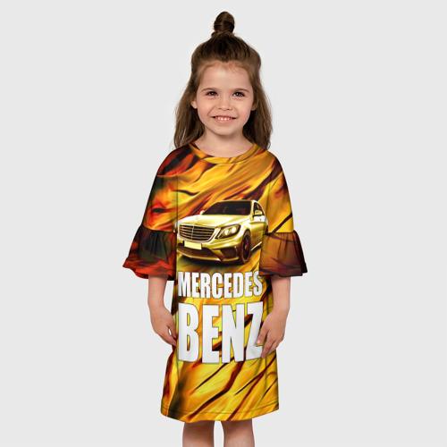 Детское платье 3D  Фото 01, Mercedes Benz