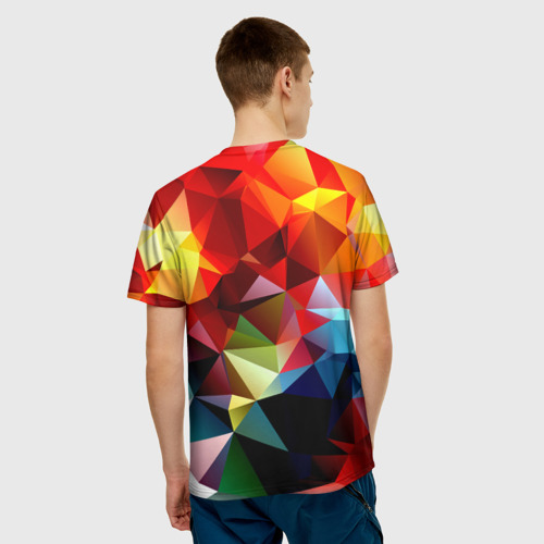 Мужская футболка 3D  Фото 02, Polygon