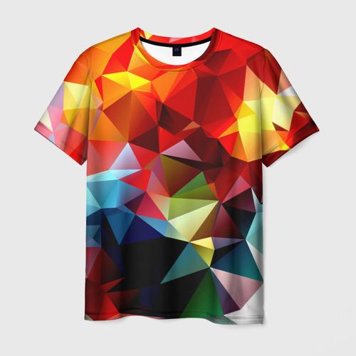 Мужская футболка 3D  Фото 03, Polygon