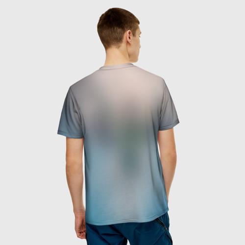 Мужская футболка 3D  Фото 02, Пловец