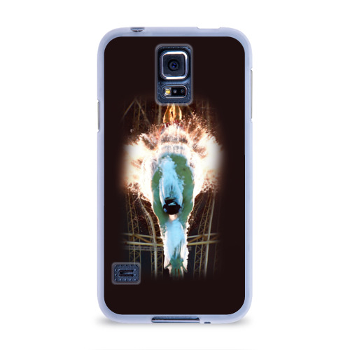 Чехол для Samsung Galaxy S5 силиконовый  Фото 01, Пловец
