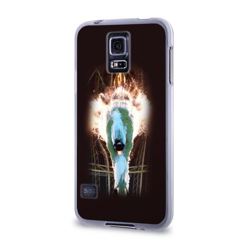 Чехол для Samsung Galaxy S5 силиконовый  Фото 03, Пловец