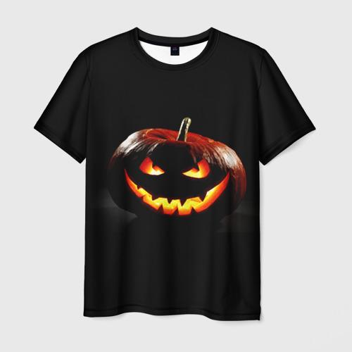 Мужская футболка 3D  Фото 01, Хитрая тыква