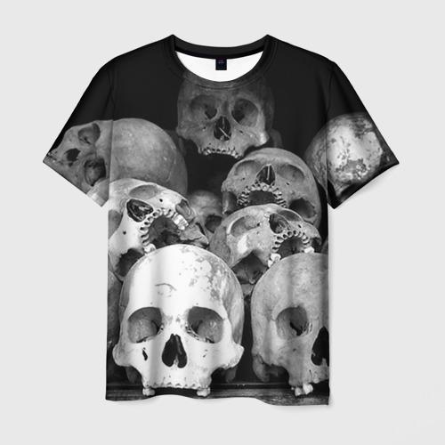 Мужская футболка 3D  Фото 01, Черепа