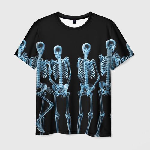 Мужская футболка 3D  Фото 03, Скeлеты