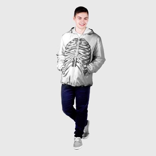 Мужская куртка 3D  Фото 03, Ребра
