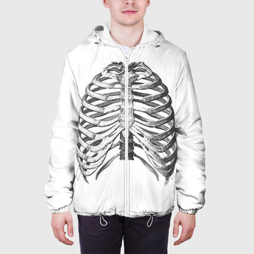 Мужская куртка 3D  Фото 04, Ребра