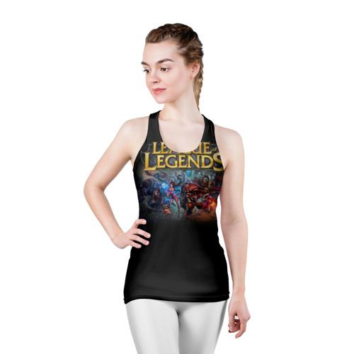 Женская майка 3D спортивная LOL Heroes 1 Фото 01
