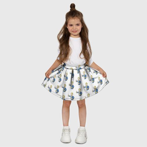 Детская юбка-солнце 3D  Фото 03, Fallout