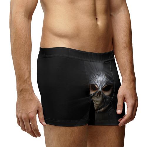 Мужские трусы 3D  Фото 03, Скелет в маске