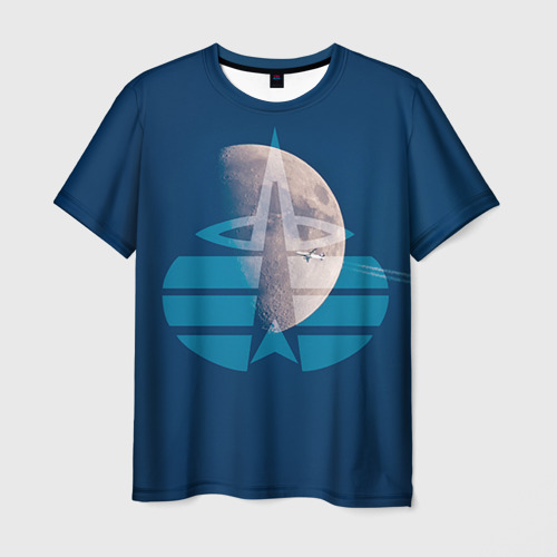 Мужская футболка 3D  Фото 03, Космические войска