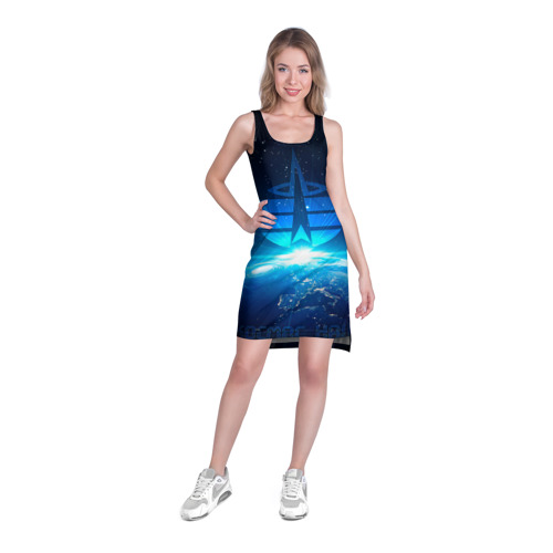 Платье-майка 3D  Фото 03, Космические войска