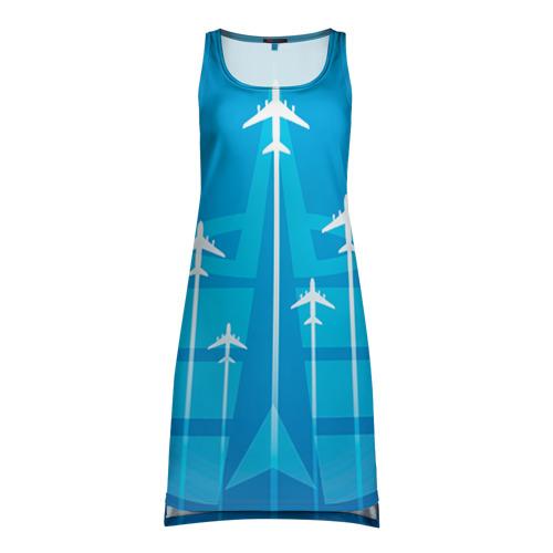 Платье-майка 3D  Фото 01, Космические войска