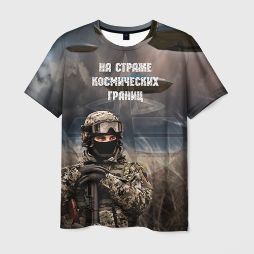 Мужская футболка 3D  Фото 01, Космические войска