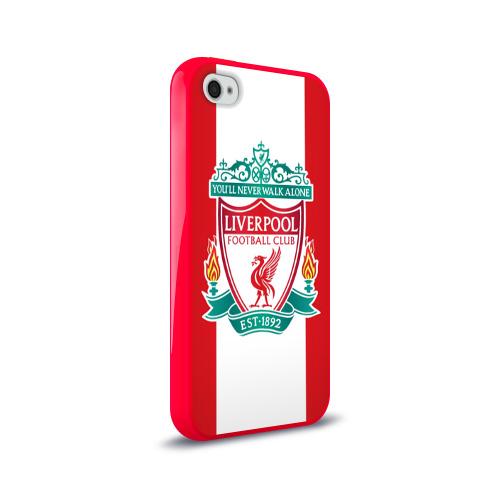 Чехол для Apple iPhone 4/4S силиконовый глянцевый  Фото 02, Liverpool FC