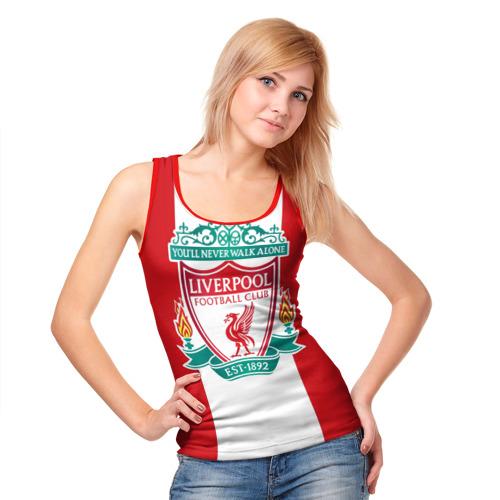 Женская майка 3D  Фото 05, Liverpool FC