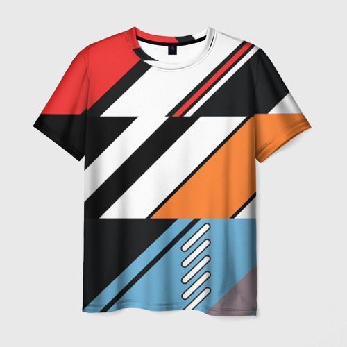 Мужская футболка 3D Asiimov Cyrex Vulcan