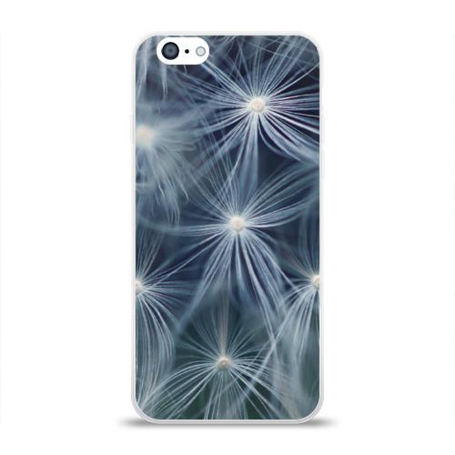 Чехол для Apple iPhone 6 силиконовый глянцевый Одуванчик