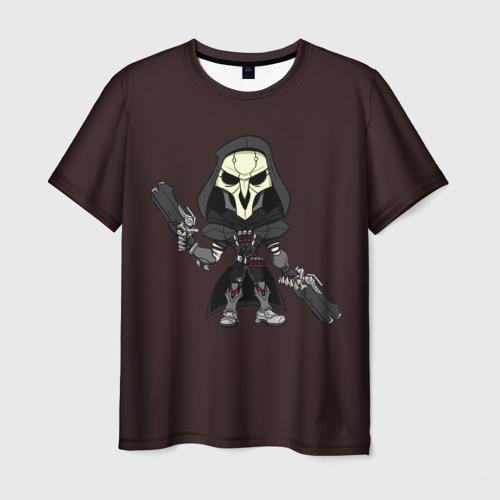 Мужская футболка 3D  Фото 01, Overwatch Reaper