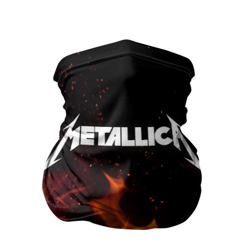 Бандана-труба 3D  Фото 01, Metallica fire