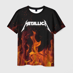 Metallica fire - интернет магазин Futbolkaa.ru