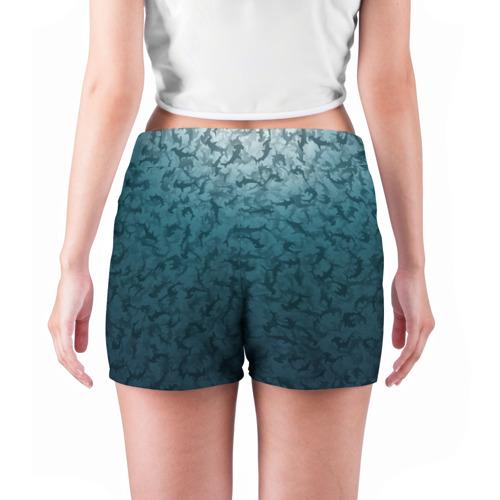 Женские шорты 3D  Фото 04, Акулы-молоты