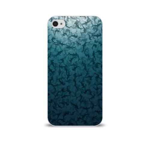 Чехол для Apple iPhone 4/4S soft-touch  Фото 01, Акулы-молоты