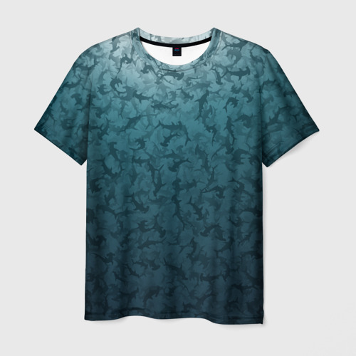 Мужская футболка 3D Акулы-молоты