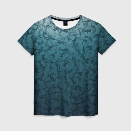 Женская футболка 3D Акулы-молоты Фото 01