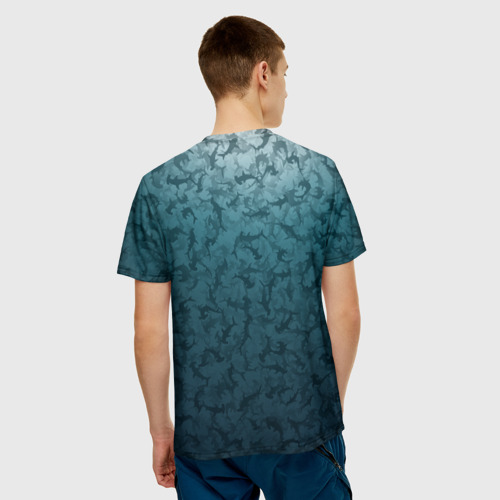 Мужская футболка 3D  Фото 02, Акулы-молоты