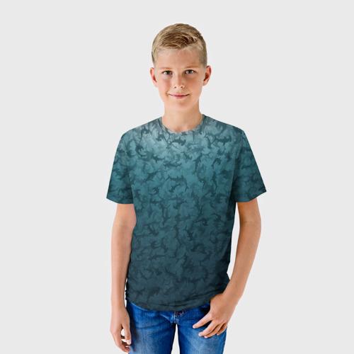 Детская футболка 3D Акулы-молоты
