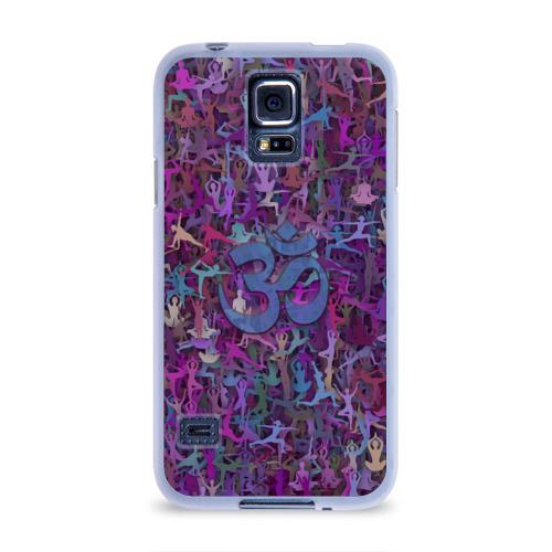 Чехол для Samsung Galaxy S5 силиконовый  Фото 01, Йога