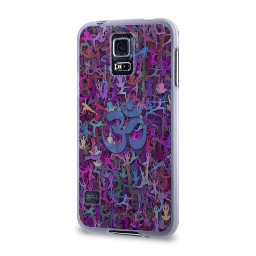 Чехол для Samsung Galaxy S5 силиконовый  Фото 03, Йога