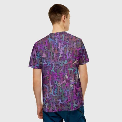 Мужская футболка 3D  Фото 02, Йога