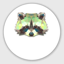 Полигональный енот