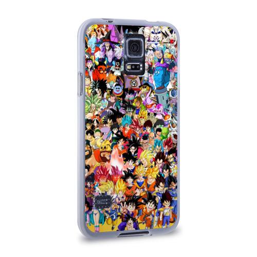 Чехол для Samsung Galaxy S5 силиконовый  Фото 02, Dragon Ball