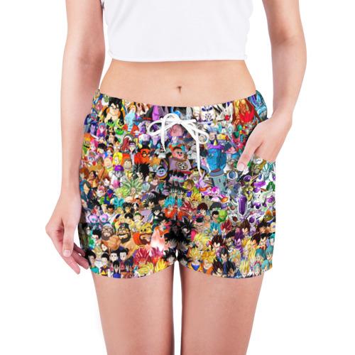 Женские шорты 3D  Фото 03, Dragon Ball