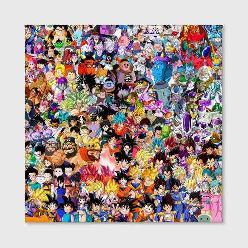 Холст квадратный  Фото 02, Dragon Ball