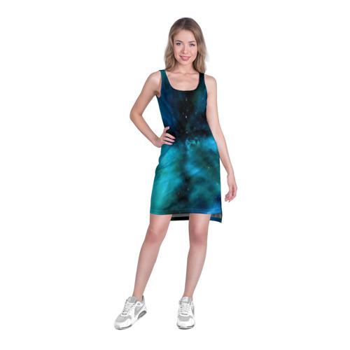 Платье-майка 3D  Фото 03, Космос