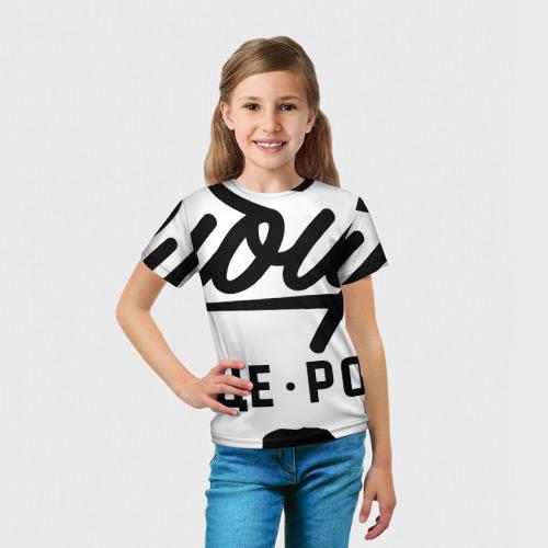 Детская футболка 3D  Фото 03, Сибирь - Сердце России