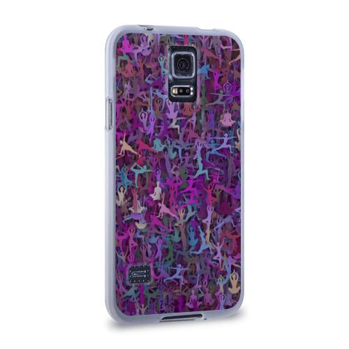 Чехол для Samsung Galaxy S5 силиконовый  Фото 02, Йога 2