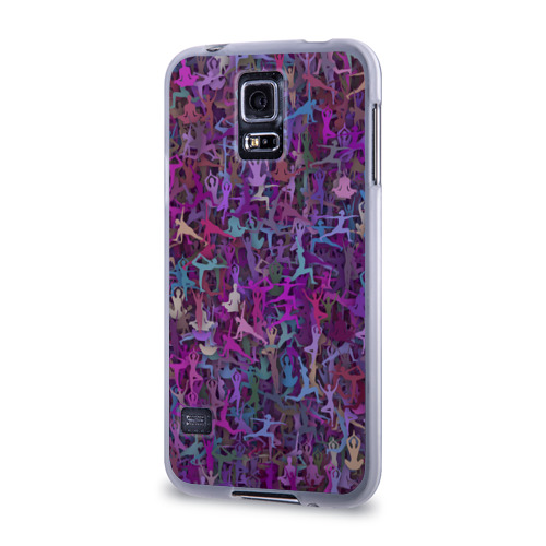 Чехол для Samsung Galaxy S5 силиконовый  Фото 03, Йога 2