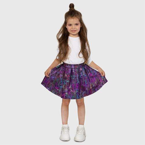 Детская юбка-солнце 3D  Фото 03, Йога 2