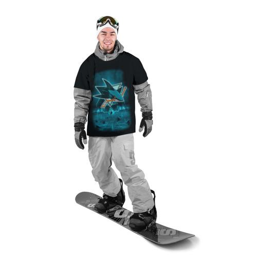 Накидка на куртку 3D Хоккей 4 Фото 01