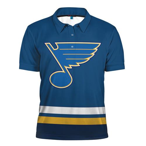 Мужская рубашка поло 3D  Фото 01, Хоккей 15
