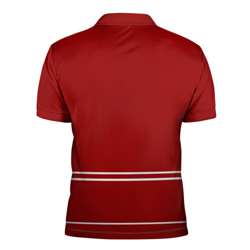 Мужская рубашка поло 3D  Фото 02, Detroit Red Wings