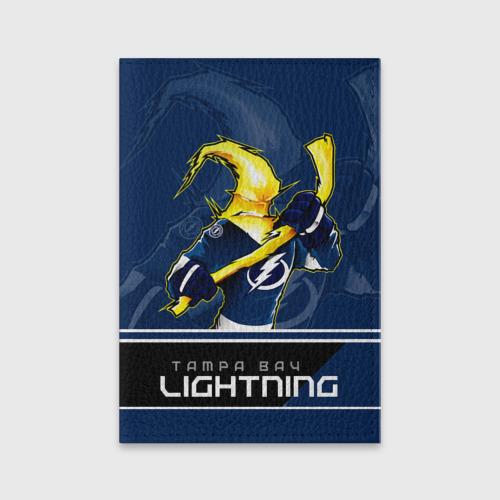 Обложка для паспорта матовая кожа  Фото 01, Bay Lightning