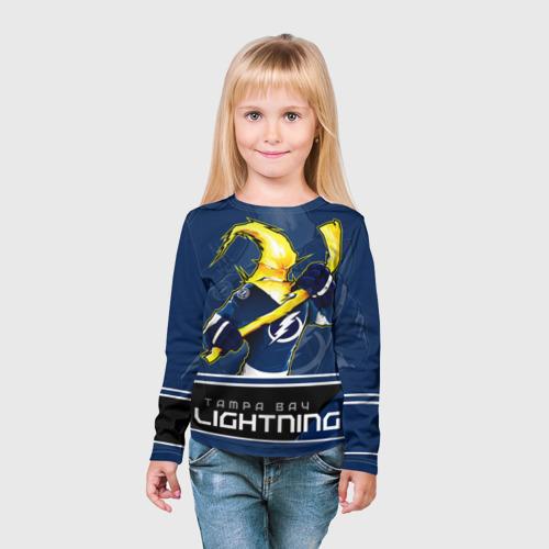 Детский лонгслив 3D  Фото 03, Bay Lightning