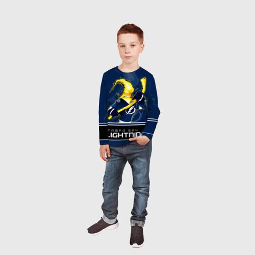 Детский лонгслив 3D  Фото 05, Bay Lightning