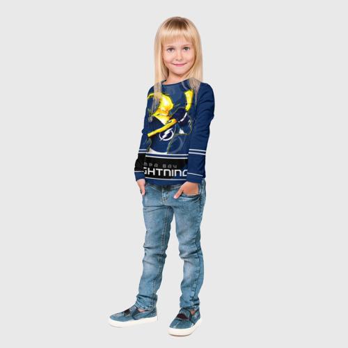 Детский лонгслив 3D  Фото 04, Bay Lightning
